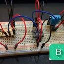 ESP8266-12 blynk  wireless temperature, humidity DHT 11 sensor