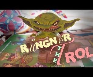 Rüngnør the Troll From Paper Monsters | Papercraft