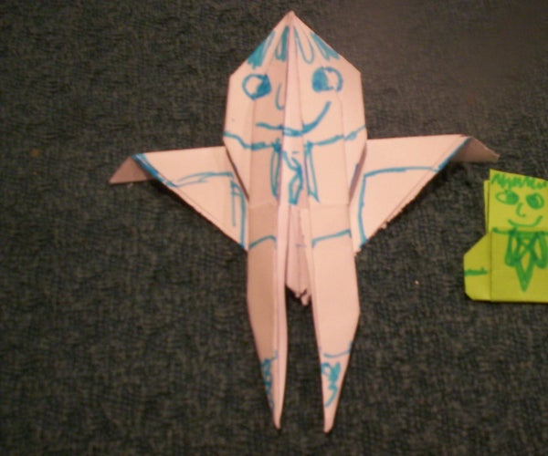 Origami Paper People