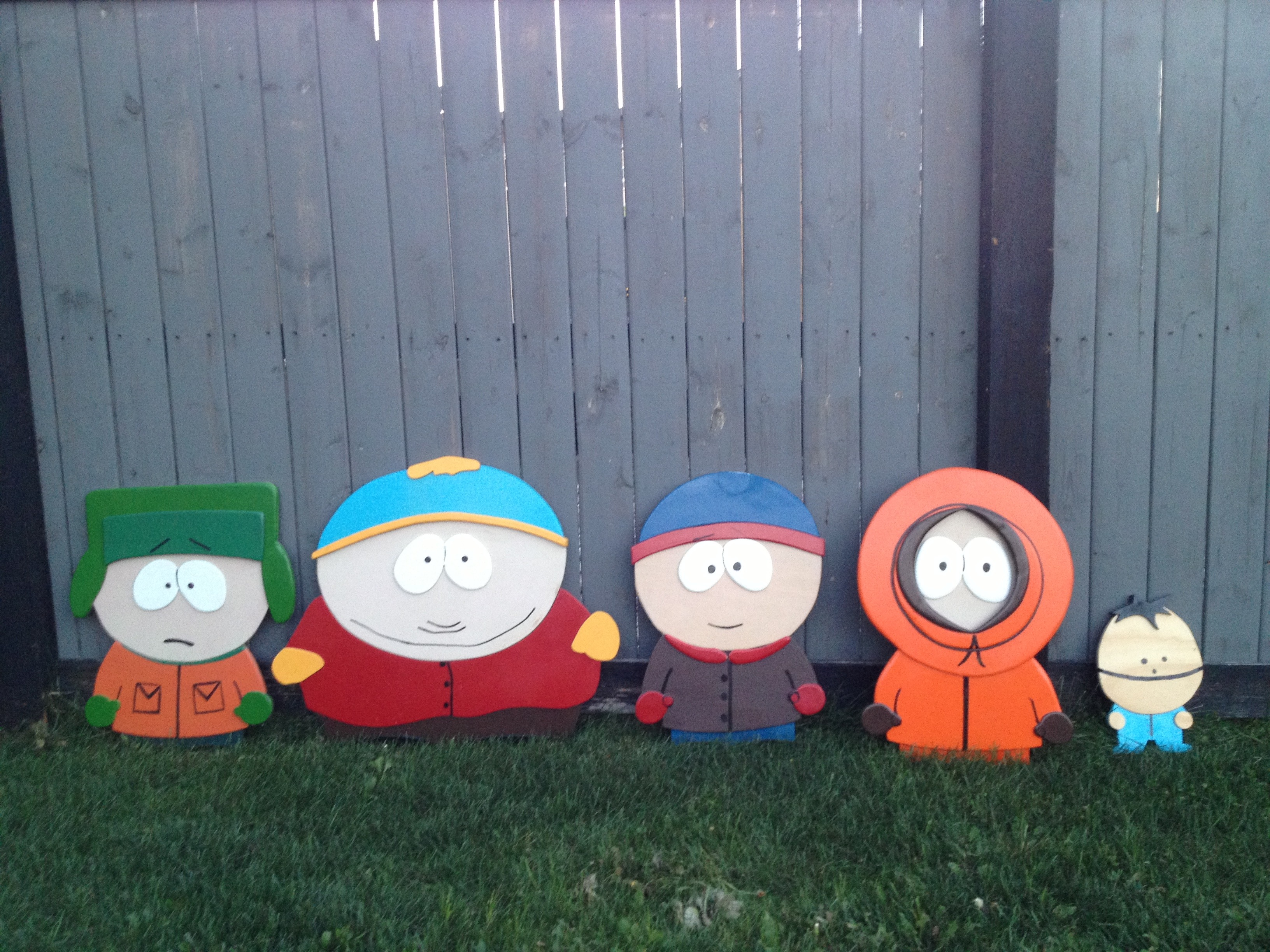 LIFESIZE Southpark Characters