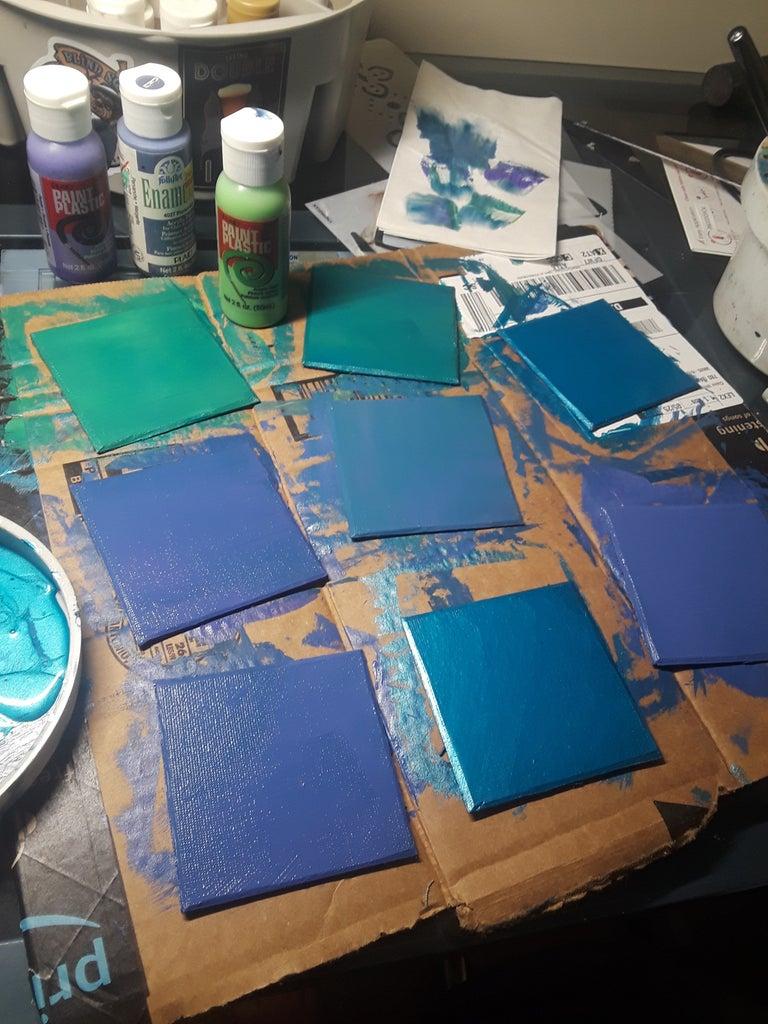 Paint Your Squares