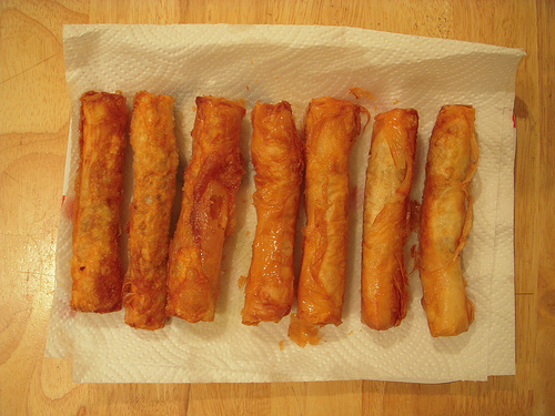 Making Cigarette Borek