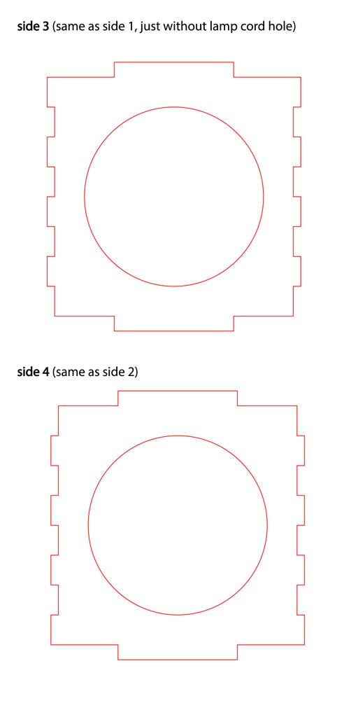 Designing the Four Sides