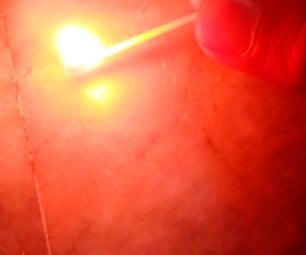 MATCHBOX FIRE SHOOTER TRICK