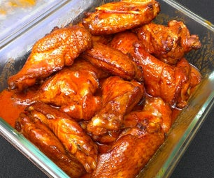 Perfect Smoked Buffalo Wings