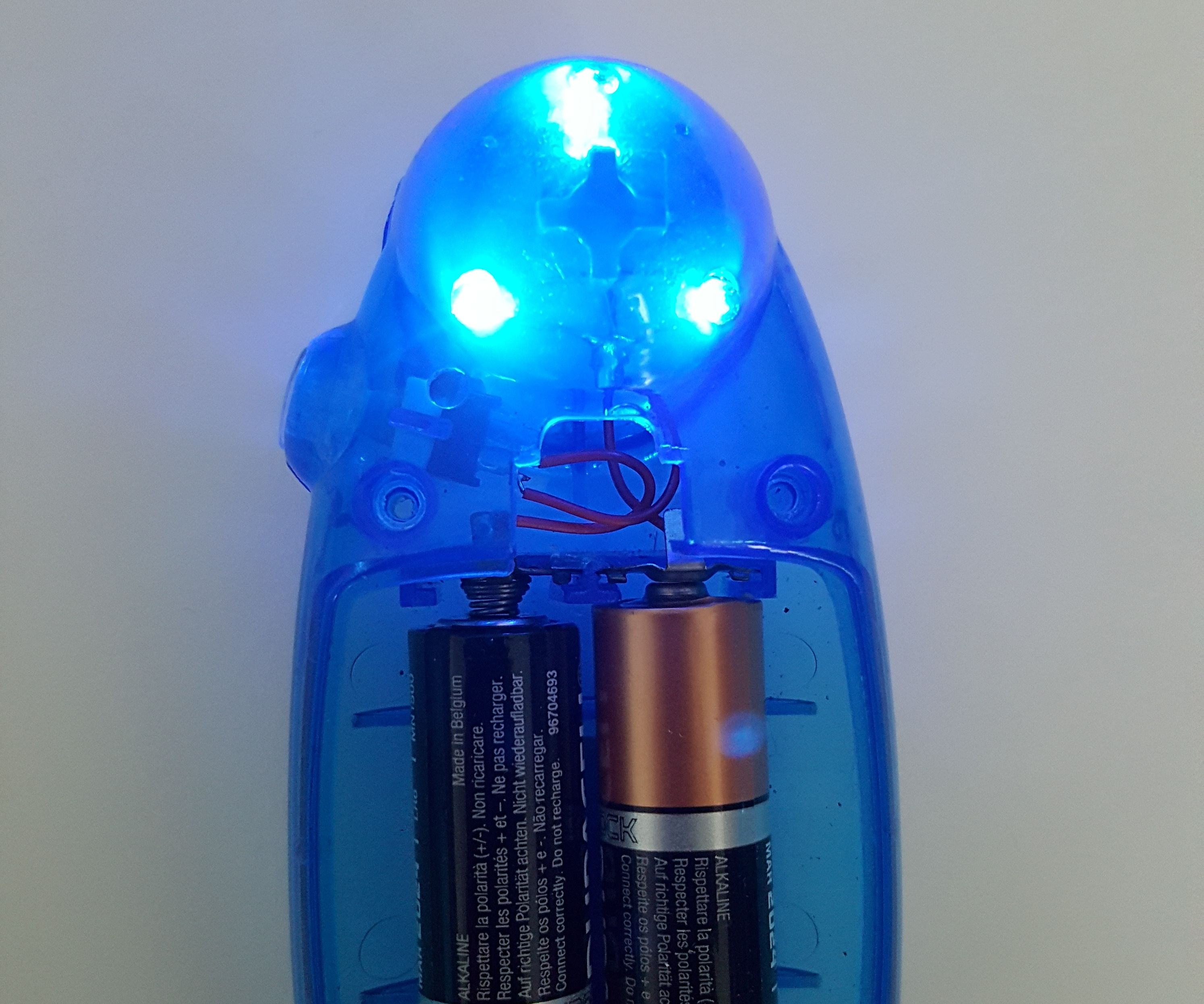Waste Batteries Night Light