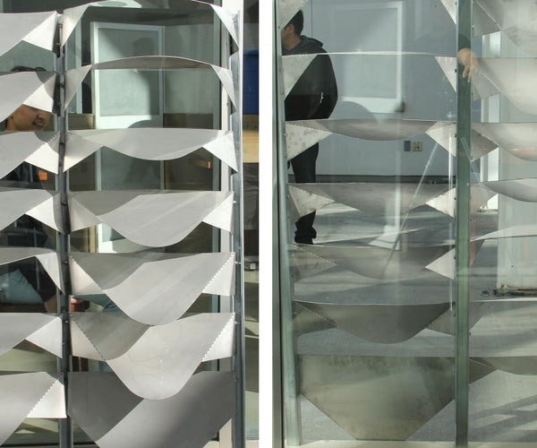 Architecture in the Making: Varied Layers Facade Prototype