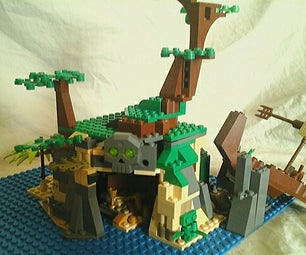 Capturing the Essence of a Lego Pirate Island