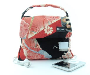 Oh Sew Stylish - IPod Control in a Bag's Handle