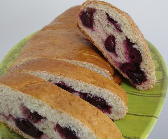 Dark Sweet Cherry Loaf (Vegan)