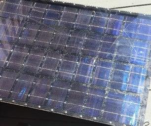 DIY 12 Volt Solar Panel
