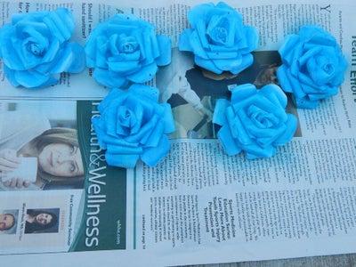 Paper Flower - Blue