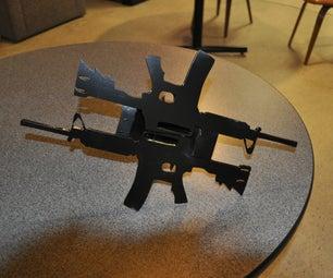 Plasma Cut AR15 Bumpers