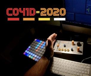 光致抗蚀剂Arduino Midi Theremin