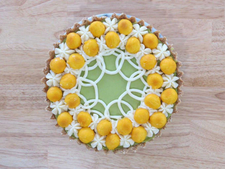 Decorate That Avocado Pie!