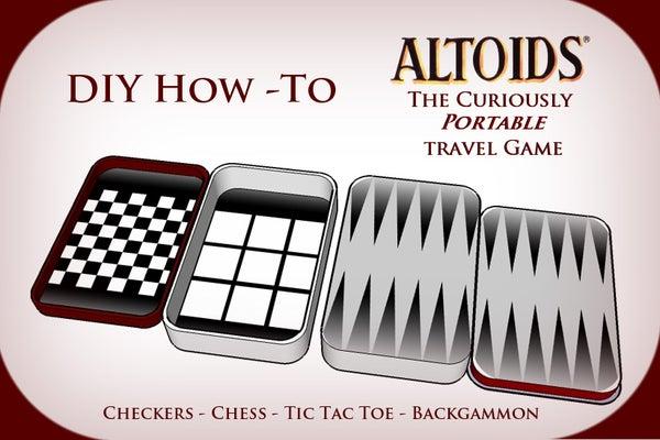 Altoids Tin Travel Games - Pocket Size Fun