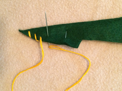 Sew Arms, Legs and Hat