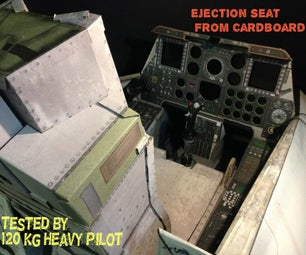 Ejection Seat From Cardboard!