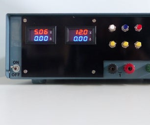 Digital Controlled Linear Power Supply