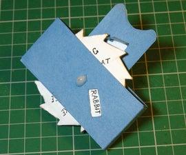 Cardboard Ratchet Mechanism