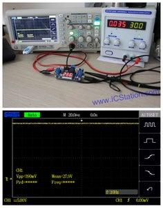 Testing Results:Input Voltage 30V