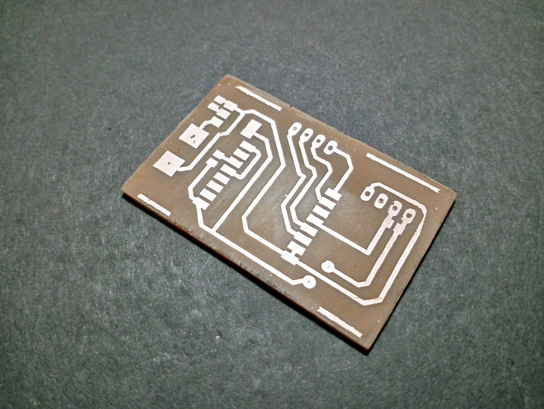 Etching PCB