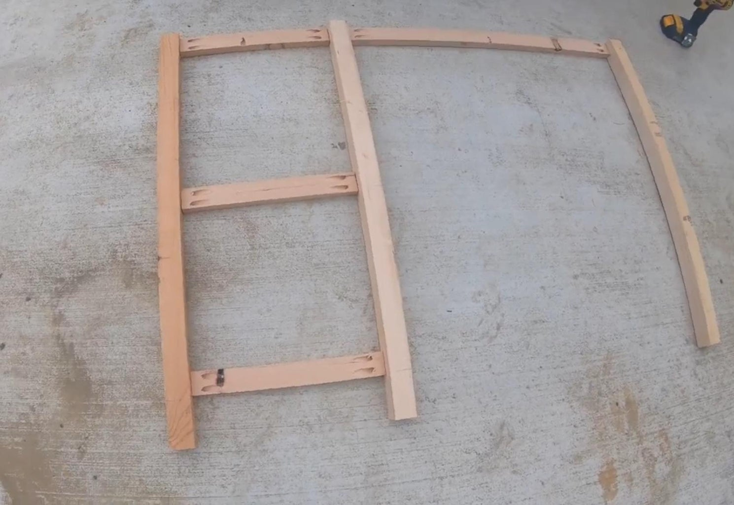Assemble the Front of the Desk