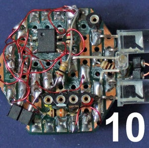Make a Clamp for Holding Surface Mount Components.