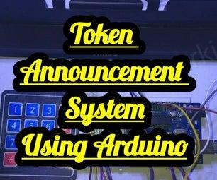 Token Announcement System