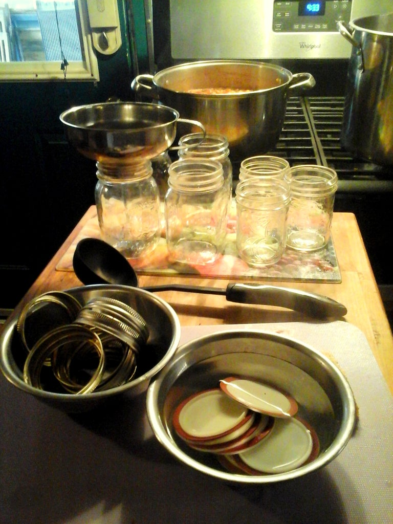 Preserve Salsa by Canning