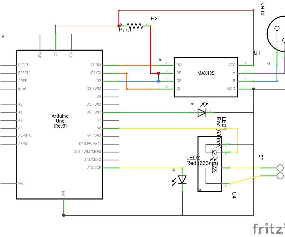 Arduino RDM Relay