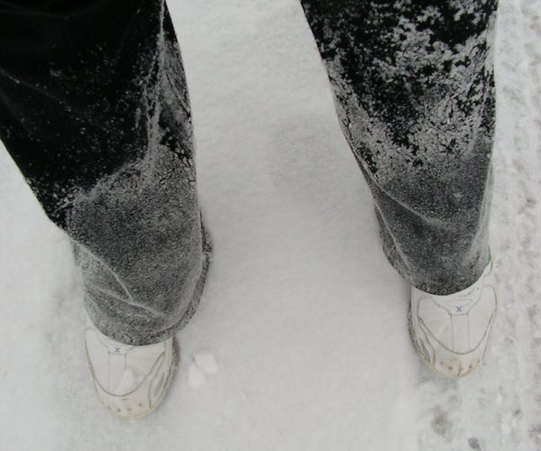 How to Make Snow Boots (without the Snow Boots)
