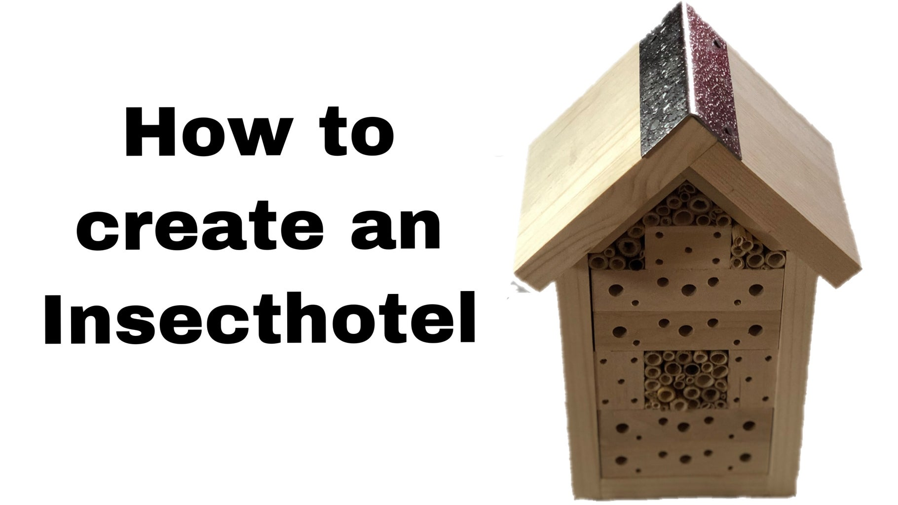 How to Create the Yakeba Insect Hotel