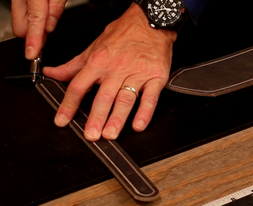 Bevel and Groove Leather