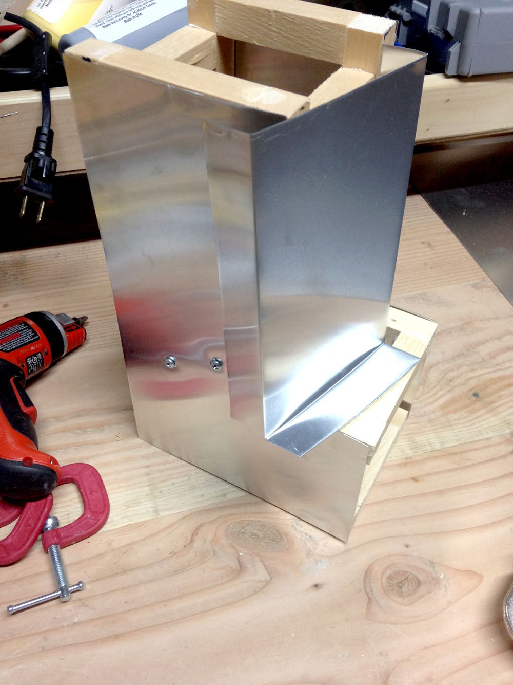 Wrap Head With Sheet Metal