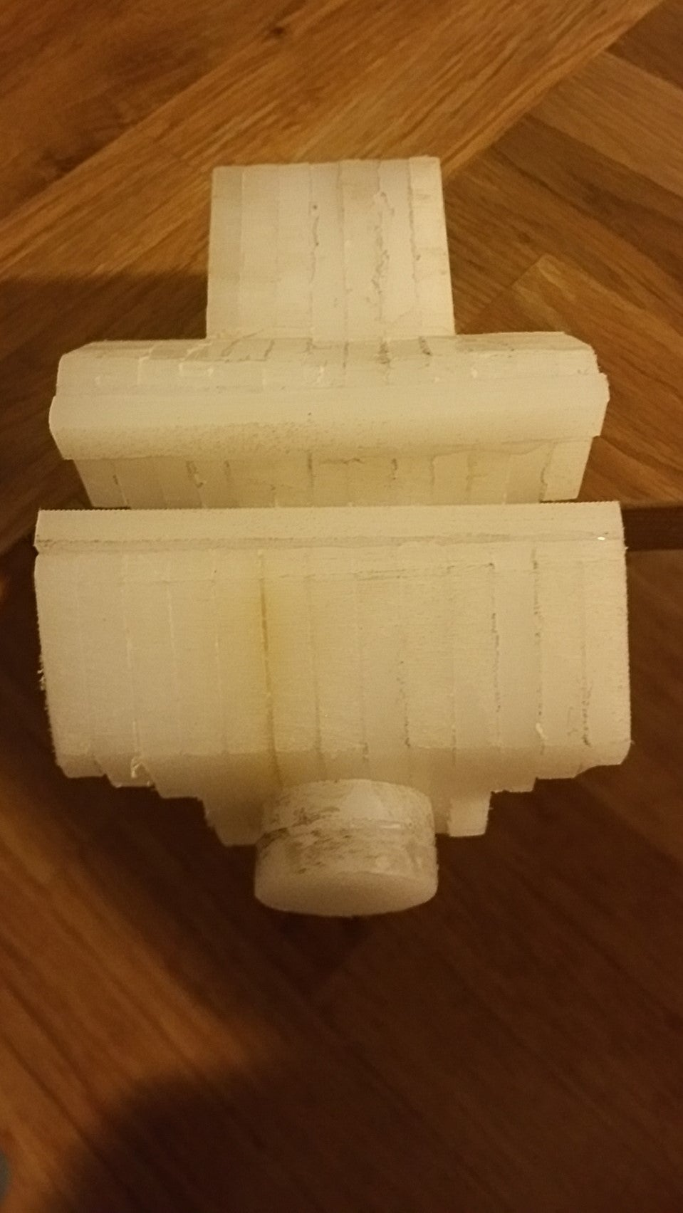 Plastic Vise From 2 IKEA Cutting Boards