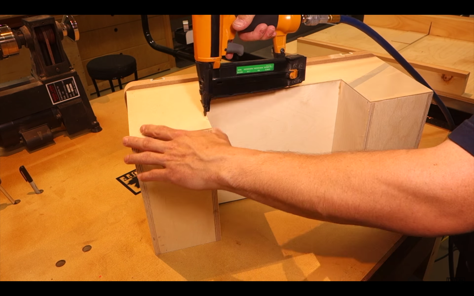 Backing Plate and Mounting the Table