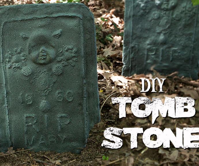 DIY Personalized Tombstones