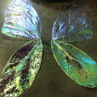 Cellophane Fairy Wings in Under 2 Hrs!