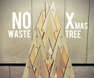 1-Sheet Plywood Christmas Tree With Full Plans