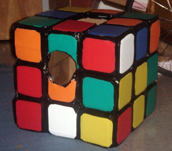 Realistic Rubik's Cube Costume