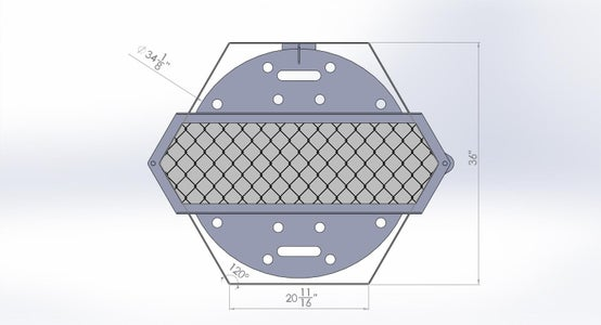Hexagon Firepit - Design and Planning