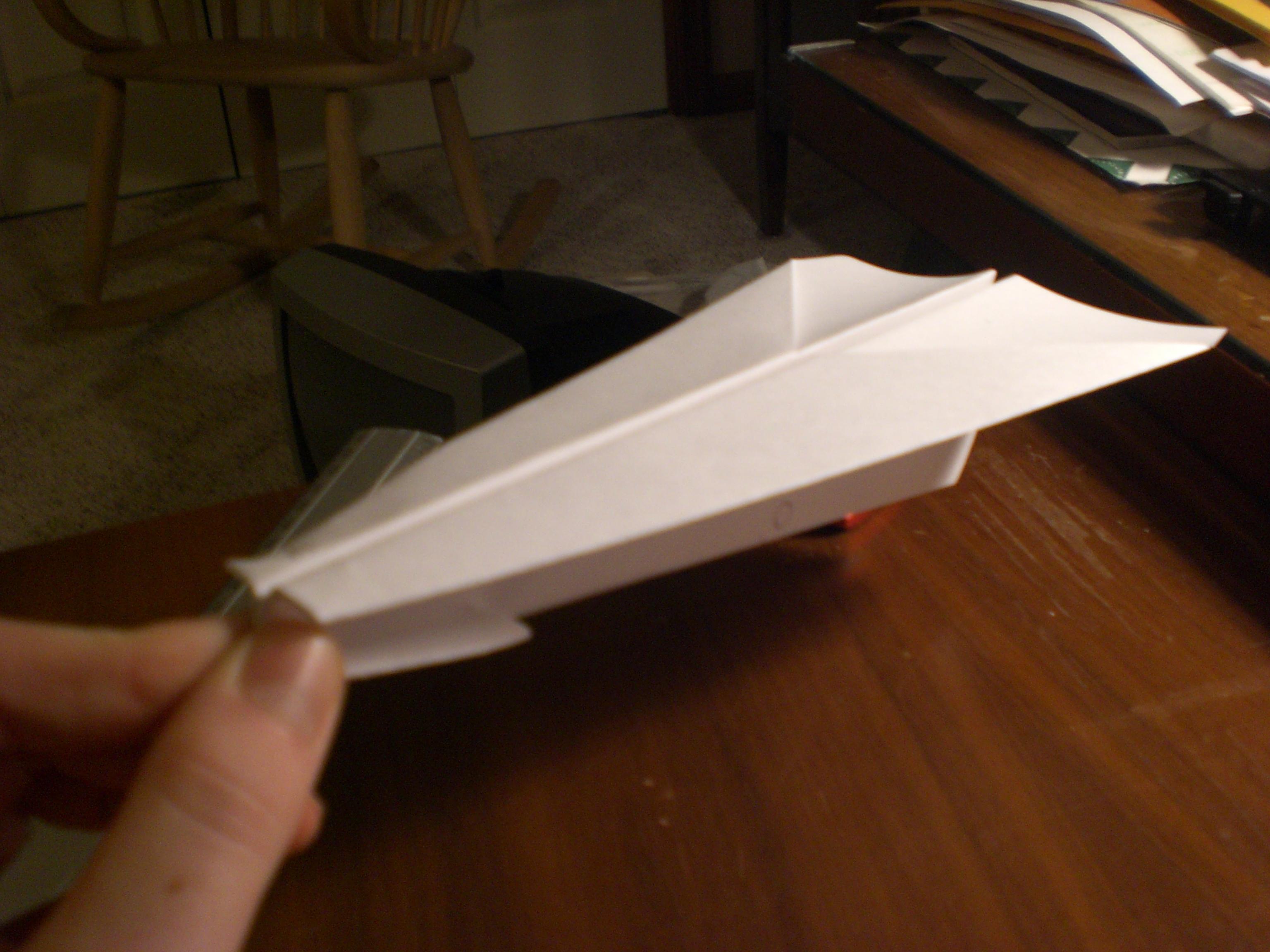 The RBP SuperSleek paper airplane