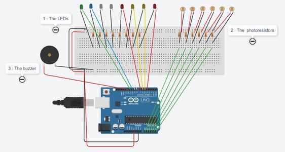 Step 5: Buzzer Circuit