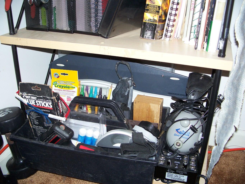 Step Six: the Bookshelf