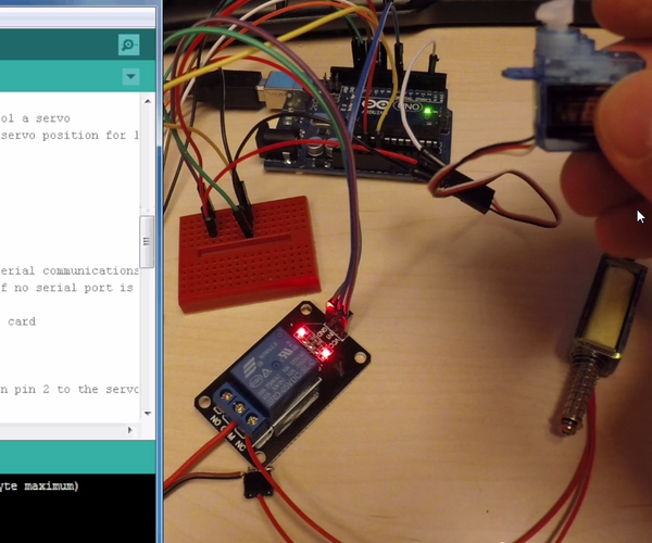 Create a Simple Electronic Lock With RFID Using a RC522