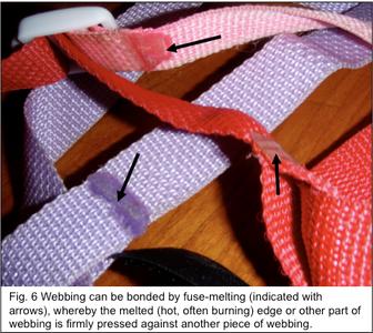Fuse Melting of Webbing