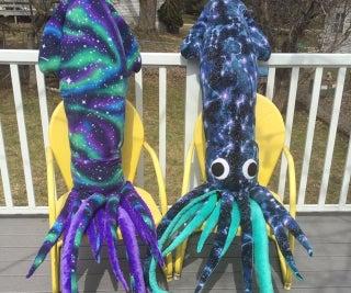 Giant Stuffed Squid