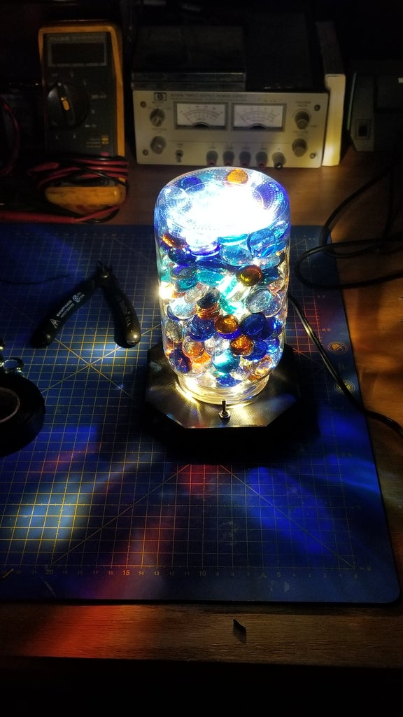 Glowing Stones LED Lamp