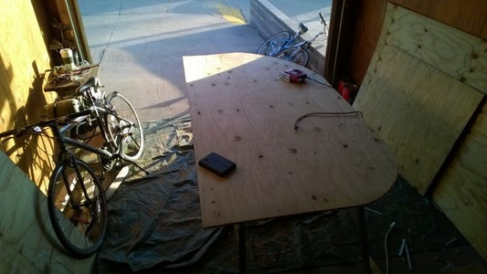 Cutting and Shaping the Walls